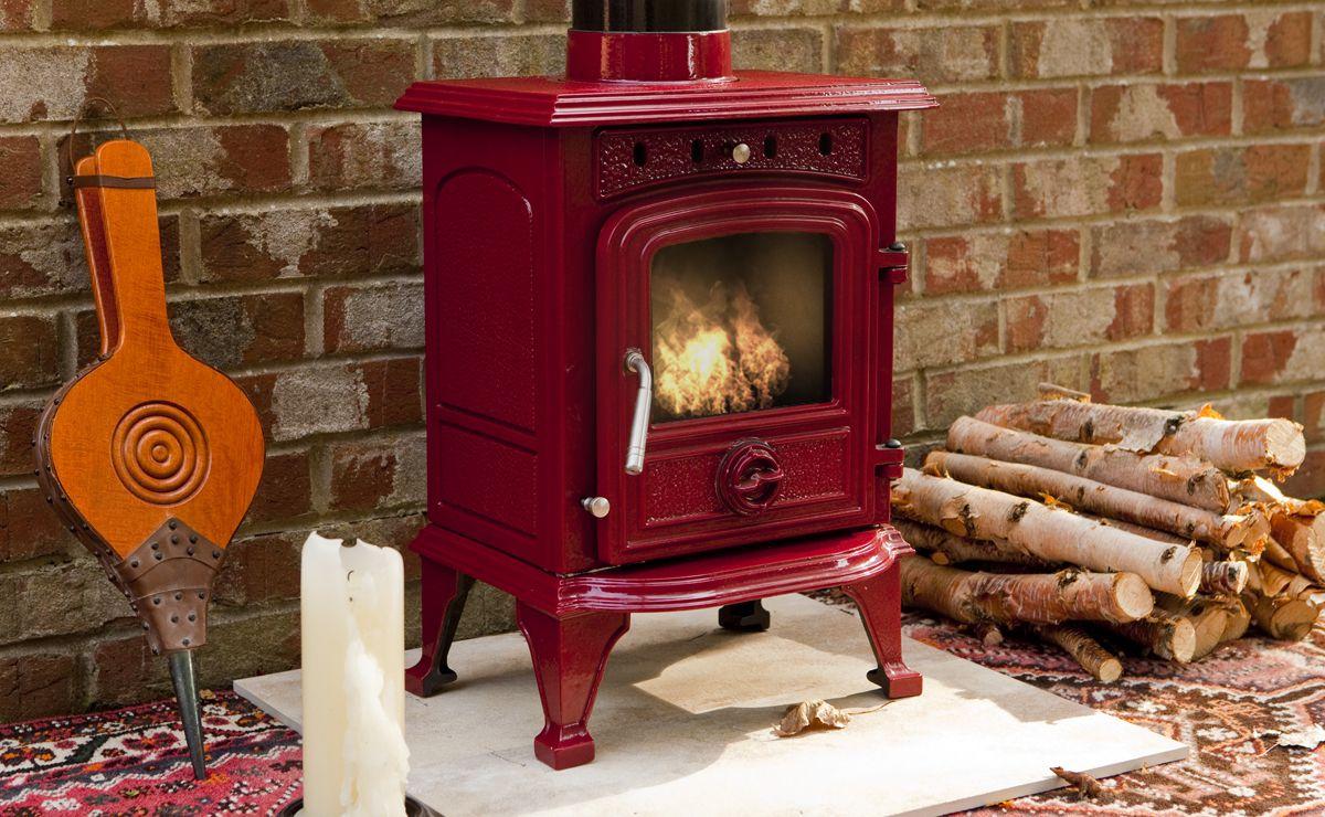Rhone Enamelled Wood Burning Stove Humber Imports