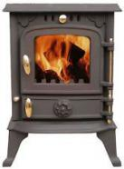 Rutland 4 to 6 kW Wood Burning Stove