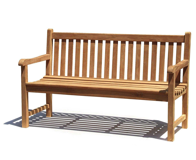 Oxford 1.5 Metre Teak Garden Bench | Humber Imports