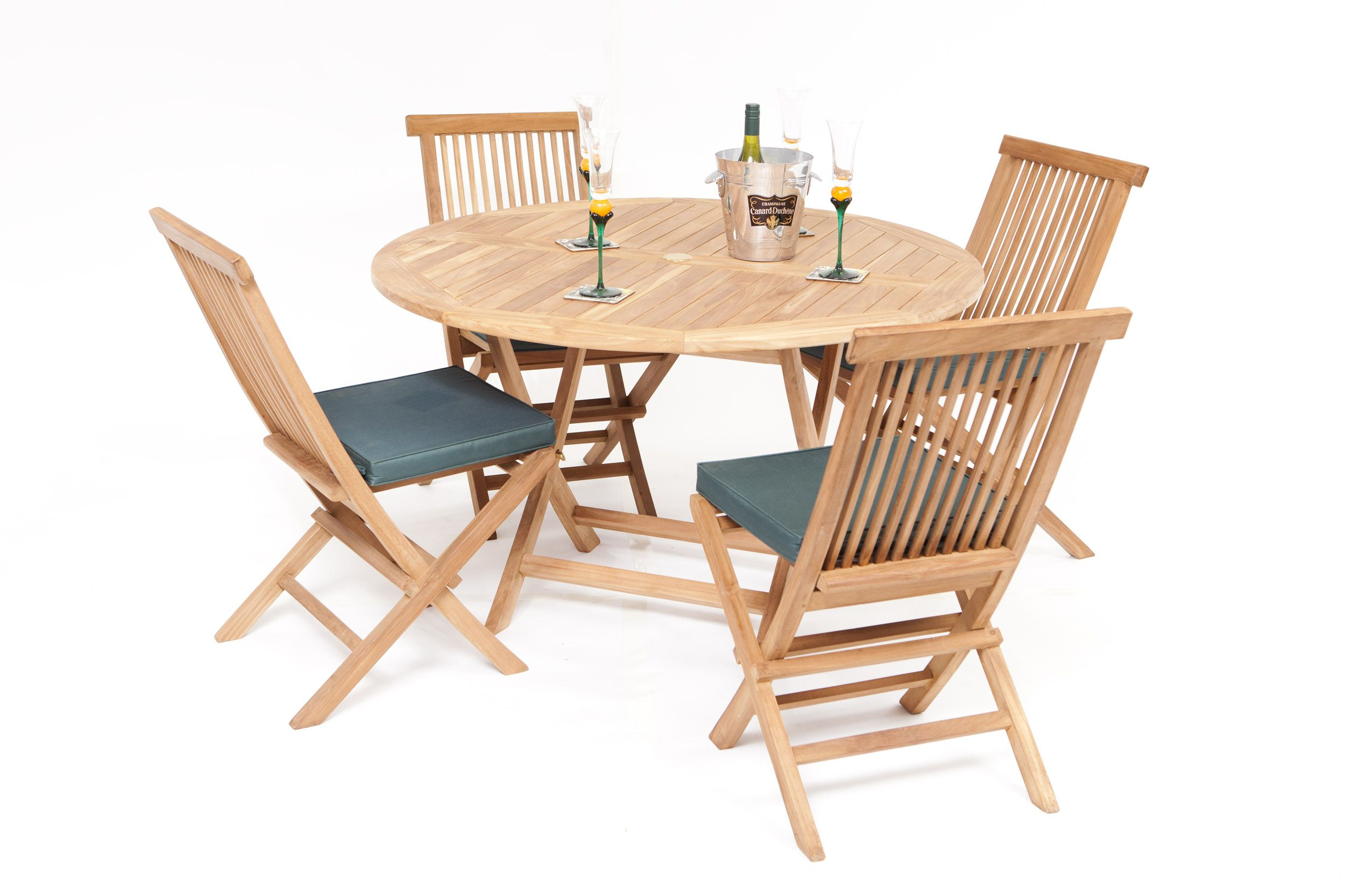 Biarritz Teak Garden Furniture Dining Set