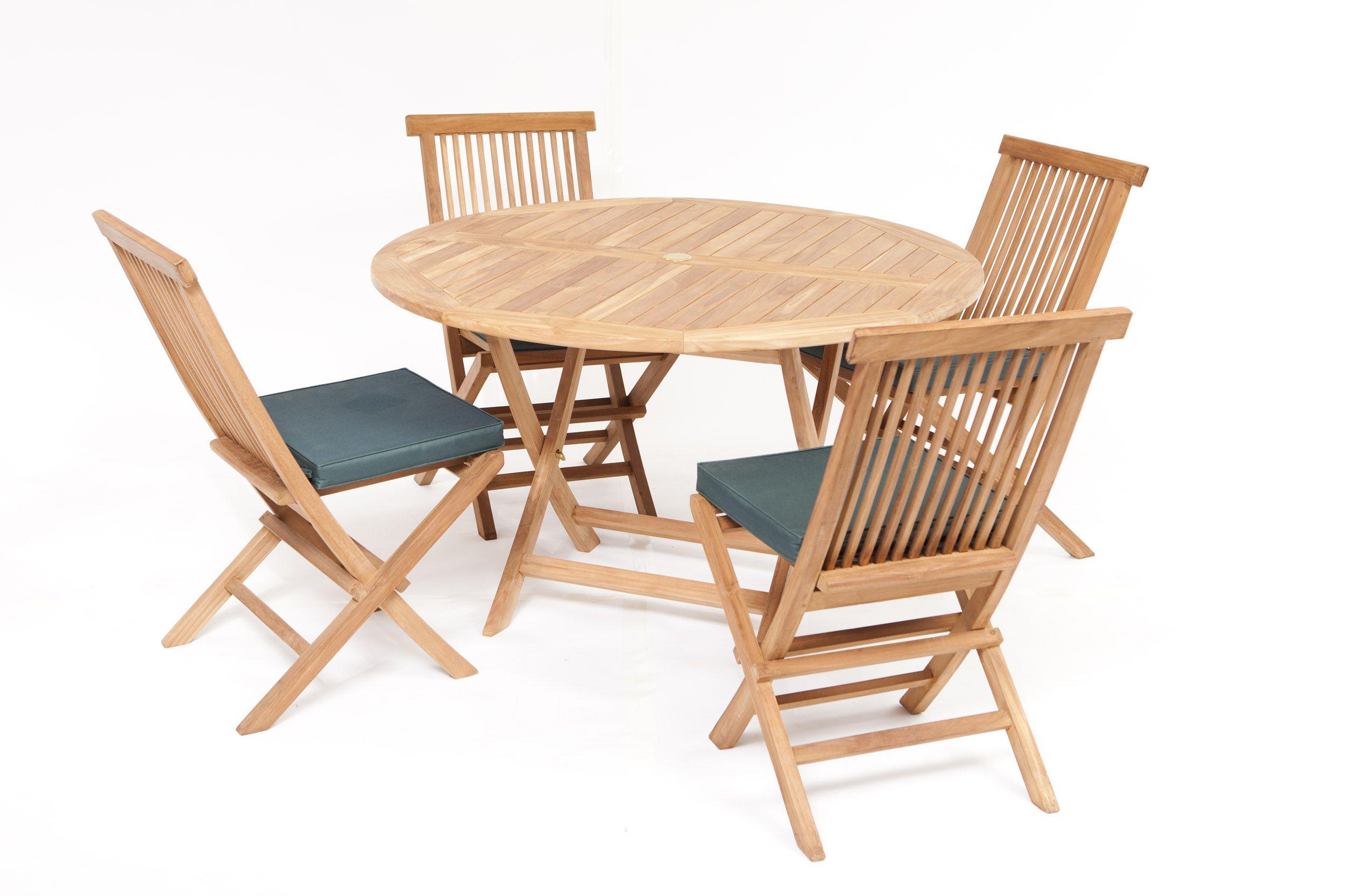 Biarritz Teak Garden Furniture Dining Set