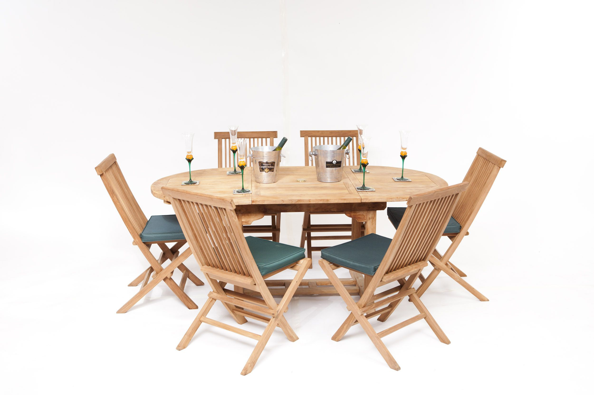 nice 6 seater teak garden furniture set - Garden Furniture 6