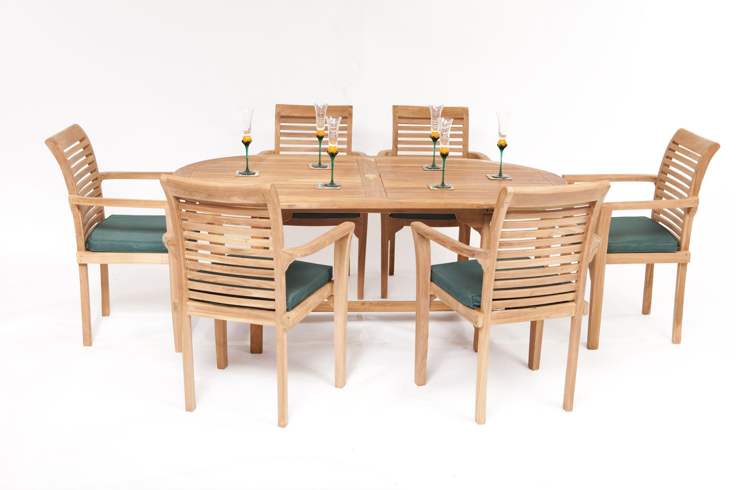 Syracruse Teak Dining And Garden Set
