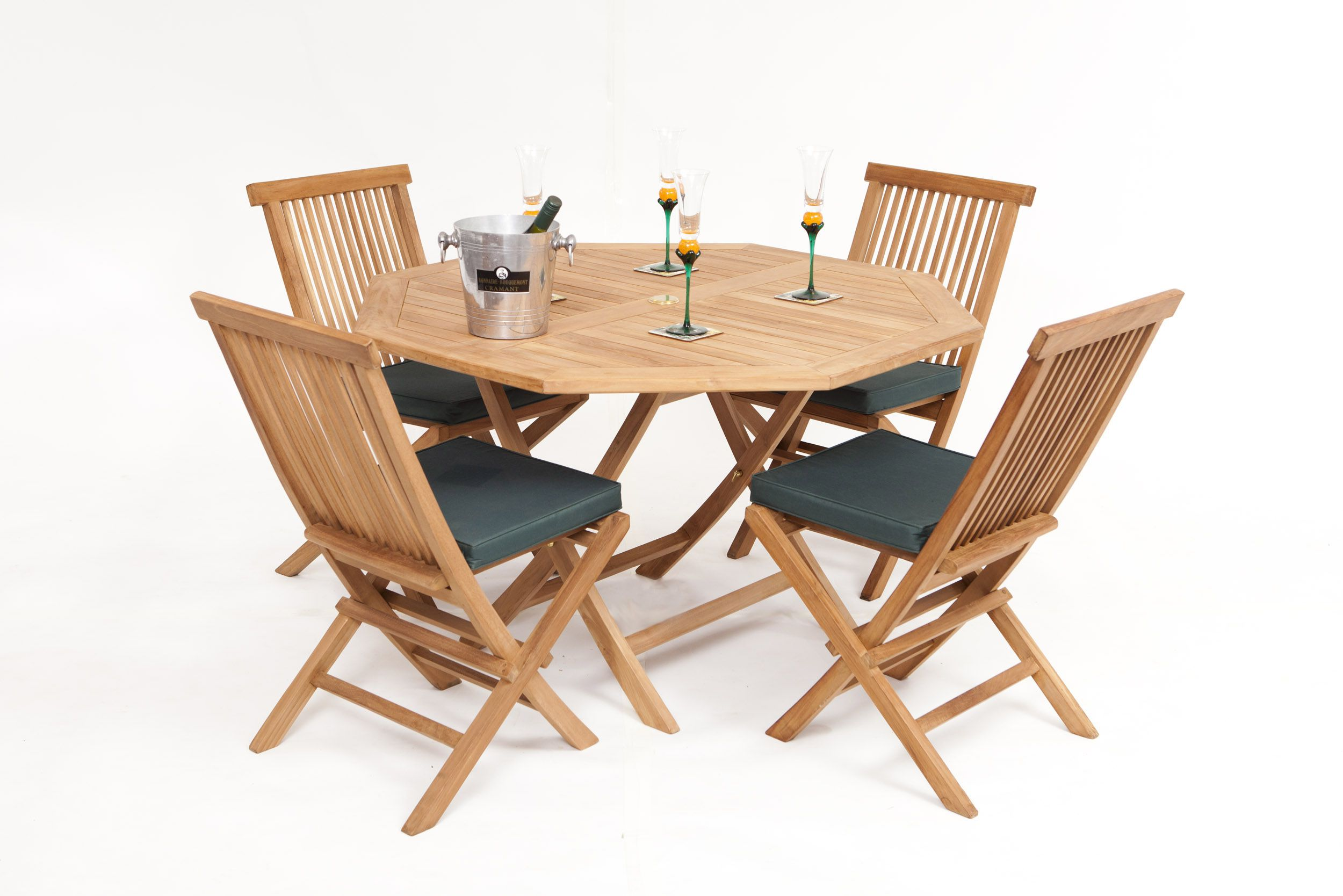 St Raphael Teak Garden Furniture Dining Set