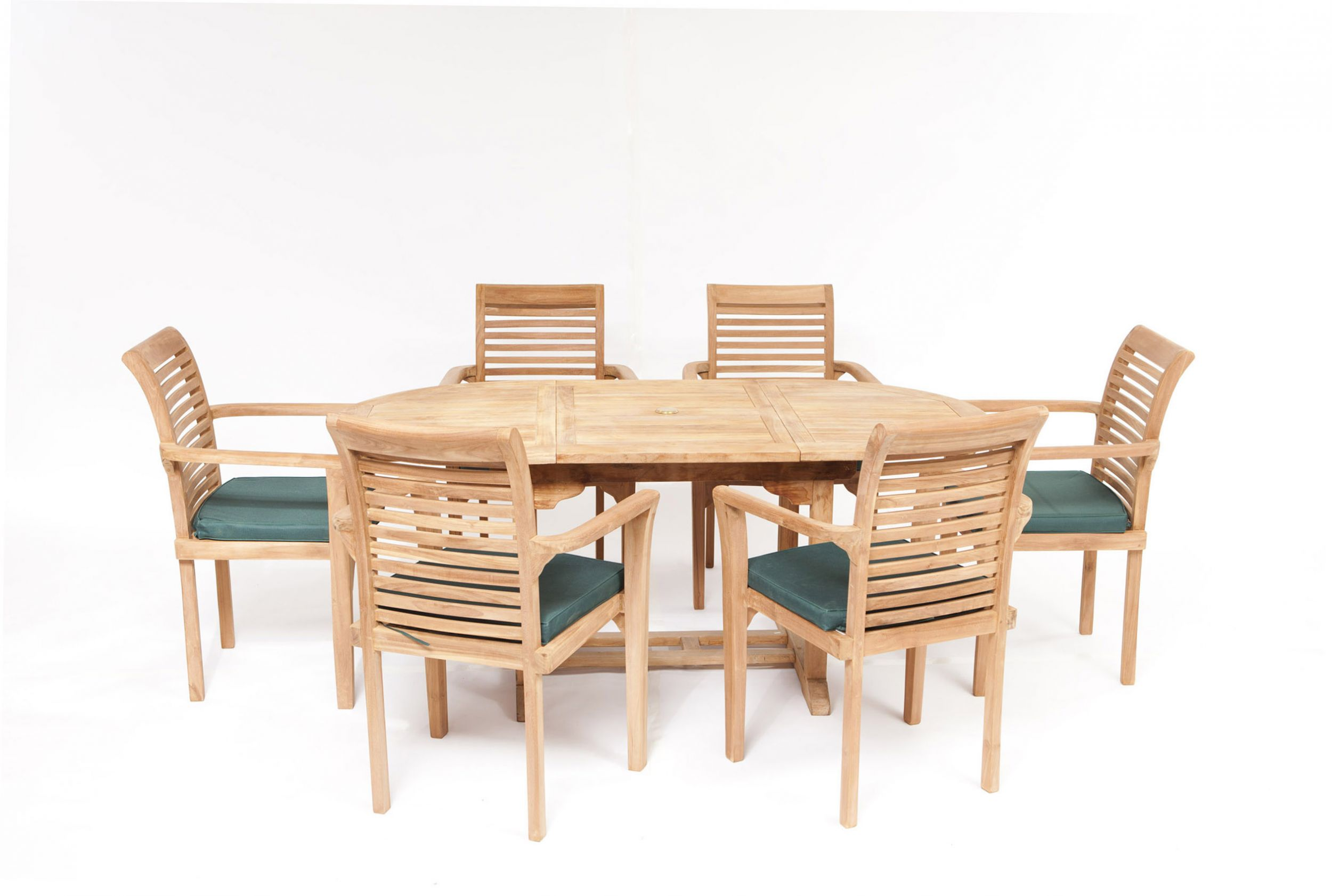 Bon Paris 6 Seater Teak Garden Furniture Set