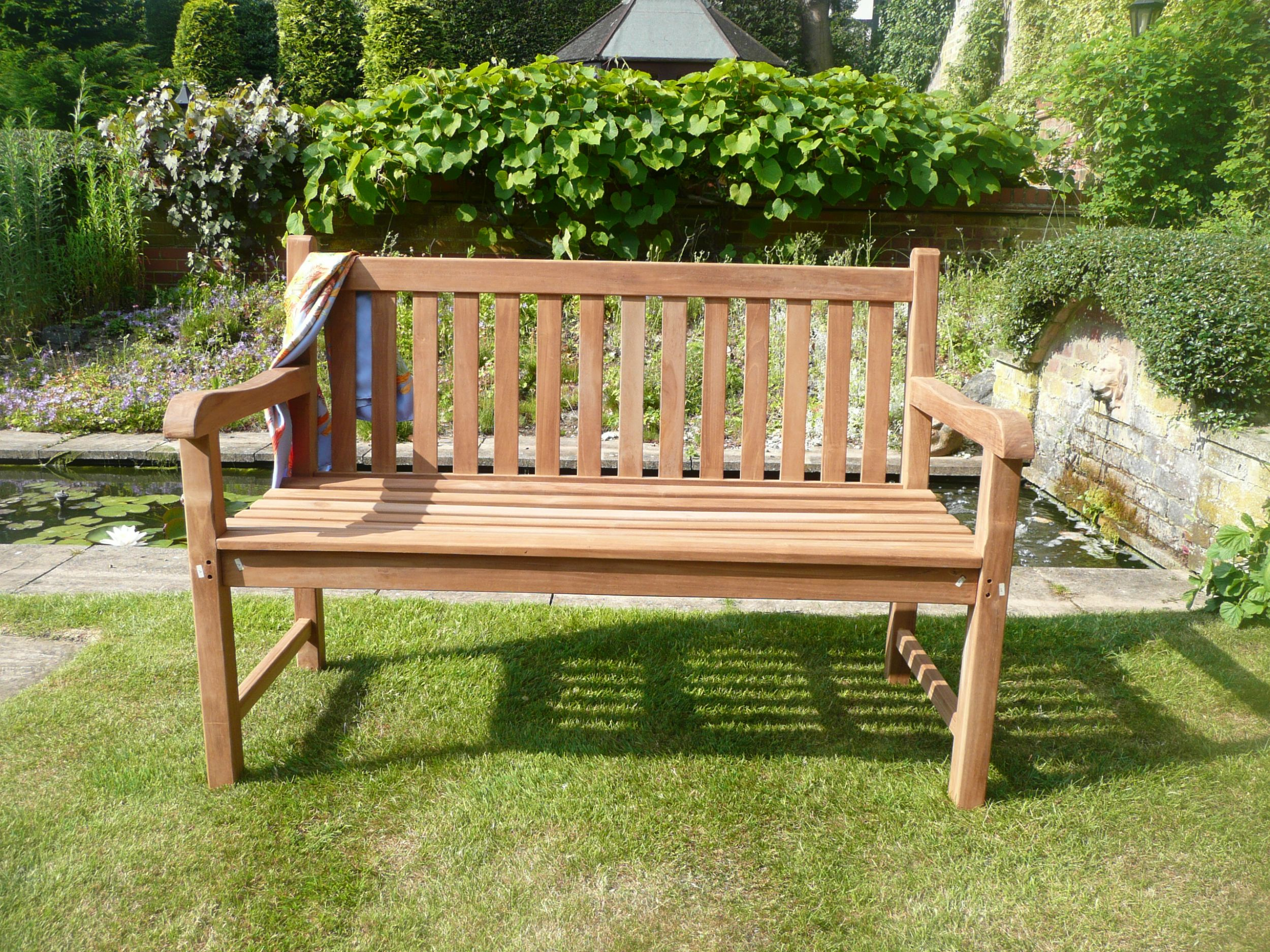 products yorkshire bench of the teak hunters garden bempton furniture