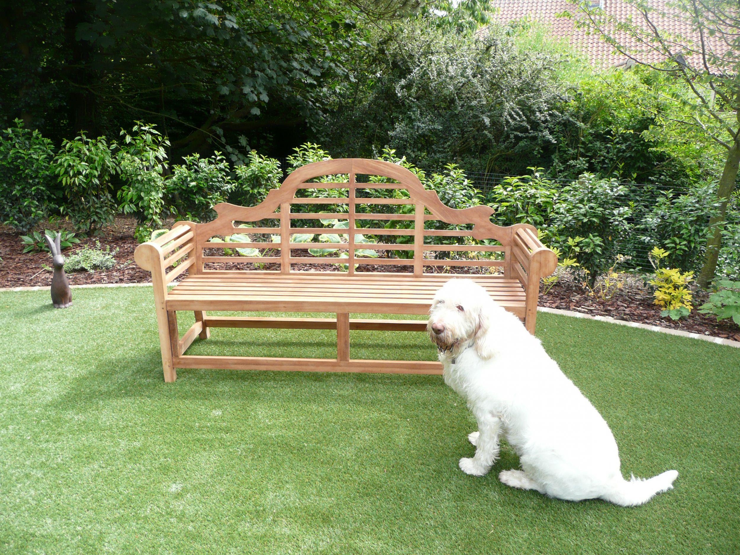 Lutyens 4 Seater Teak Garden Bench