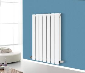 Modern Designer Oval Column Radiator 600 x 417 Double Column
