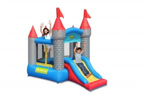 Pentagon Bouncy Castle With Slide