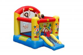 Clown Bouncy Castle With Slide