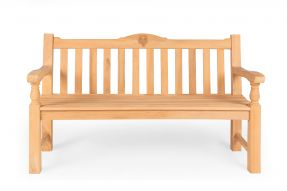 Chunky Memorial Commemorative Rose Bench