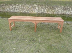 1.8 Metre Teak Waiting Bench