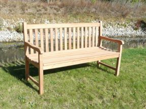 Oxford 1.5 Metre Teak Garden Bench