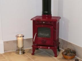 Rhone 4.5 KW Enamelled Wood Burning Stove