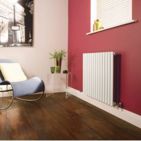 Modern Designer Oval Column Radiator 600 x 820 Single Column