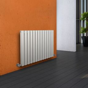 Modern Designer Oval Column Radiator 600 x 820 Double Column