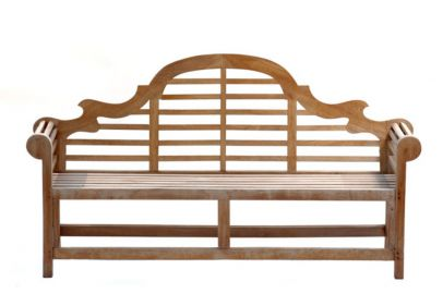 Great Lutyens 4 Seater Teak Garden Bench