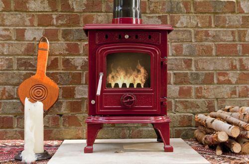 Rhone 4.5 KW Enamelled Wood / Multifuel Stove