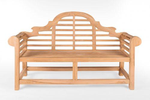 Lutyens Extra Thick Teak Bench