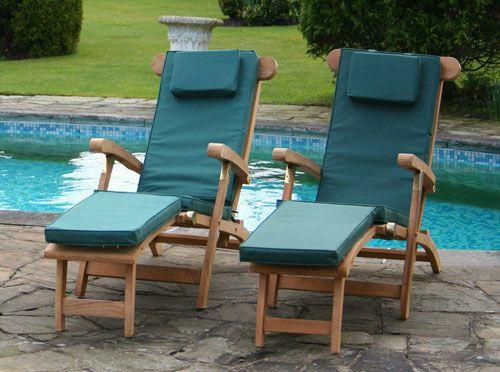 Teak Steamer Garden Chairs Humber Imports Uk Humber