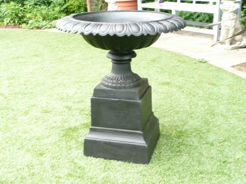 "Wordsworth Victorian ""Tazza"" Style Cast Iron Urn"
