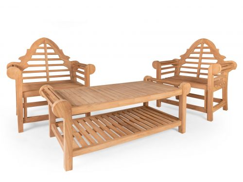 Lutyens Coffee Table & Two Lutyens Chair Collection