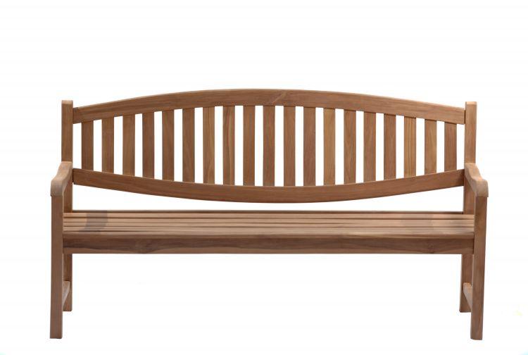 Windsor 1.8 Metre Curved Back Teak Garden Bench